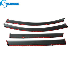 Image 5 - smoke Car Side Window Deflectors For DONGFENG AX7 2019 Sun Shade Awnings Shelters Guards accessories SUNZ
