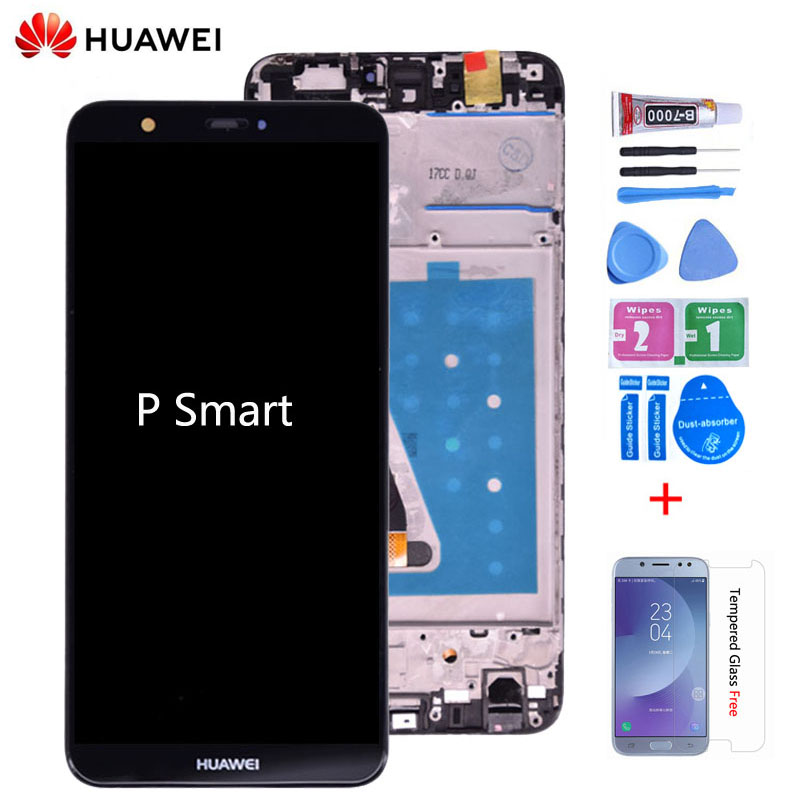 Original For Huawei P Smart LCD Display Touch Screen Digitizer Assembly For Huawei enjoy 7S LCD With Frame FIG LA1 LX1 L21 L22(China)