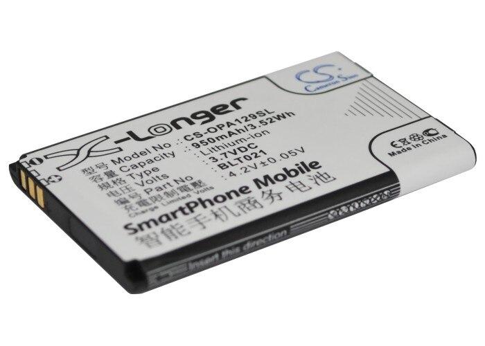 Аккумулятор CS 950mAh/3.52Wh для OPPO A129, A93 BLT021