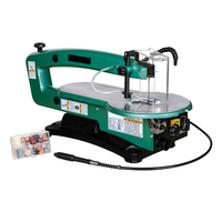 H1801 18 Inch luxury Section Stepless Speed Wire Saw Machine Pull flower Saw Jig Saw Table Saw Machining Center