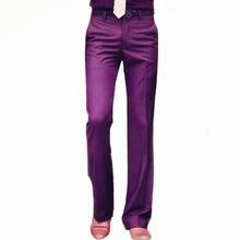 Костюм брюки Новые расклешенные мужские летние прямые костюм