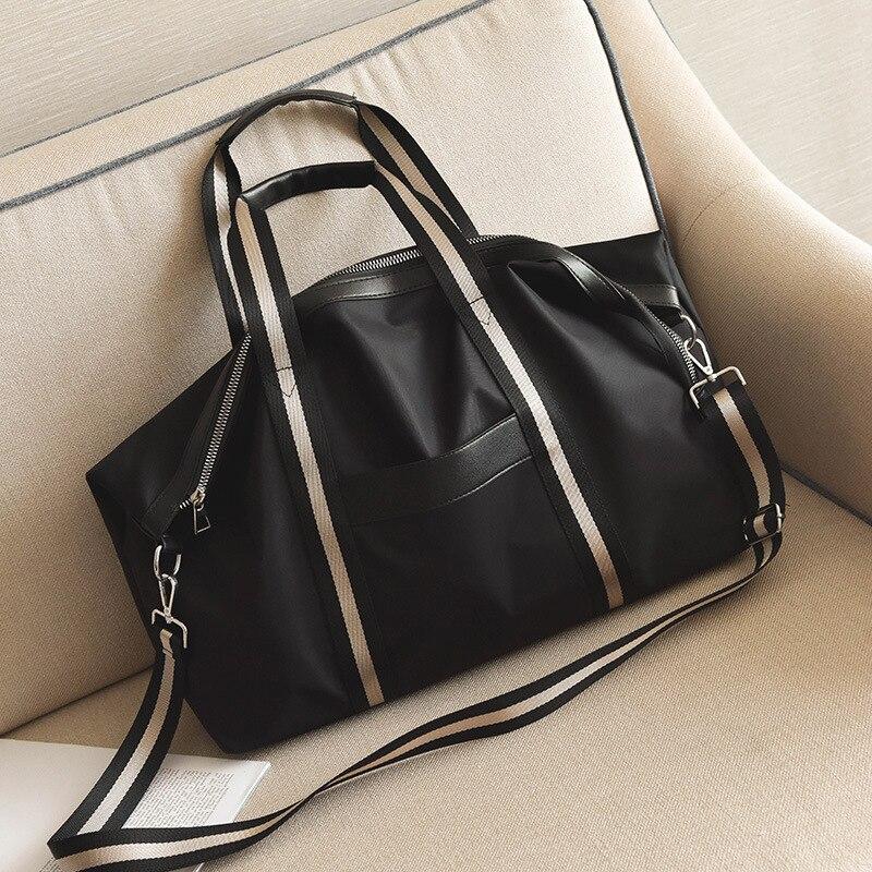2019 Hot Canvas Women's Travel Bags Yoga Gym Bag For Fitness Shoes Handbags Shoulder Crossbody Pouch Women Men Sac De Sport Pack