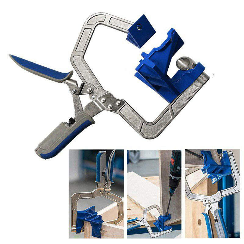 90 Degree Right Angle Kreg <font><b>KHCCC</b></font> 90 Corner Clamp Woodworking Clamping Kit Clampnew Woodworking Clamp Corner Clamp image