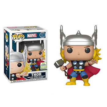 Funko Pop MARVEL THOR 438# Action Figures Brinquedos Anime Model Pvc Collection Original Box Toys for Birthday Gifts 2F80