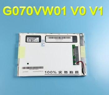 100% original test LCD SCREEN G070VW01 V.1 G070VW01 V.0  7 inch
