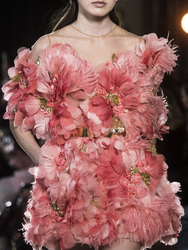 BacklakeGirls 2020 Rosa cuello redondo pluma flor Hihg final cóctel vestidos sin mangas Mini mujeres ocasión especial vestido de fiesta