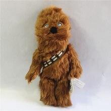 1 peça 38cm = 15 polegada original star wars chewbacca brinquedo de pelúcia chewbacca boneca recheada melhor presente de natal