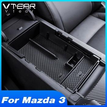 Vtear For Mazda 3 2019 2020 akcesoria główny schowek w podłokietniku w samochodzie pojemnik konsola środkowa taca na zastawę wnętrze produktu