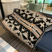 Couverture d'été tricotée pour bébé, couvre-lit, chaise, étui de plage, Manta