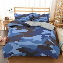 Camouflage Bed Spread Set Duvet Cover Set