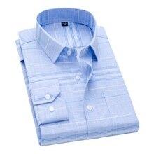 DAVYDAISY chemise à manches longues pour homme, tenue daffaires, vêtement de marque, imprimé à carreaux, modèle 2020/nouveauté, DS262
