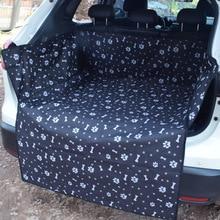 Mat Hammock Cushion Protector Pet Travel Car Back Seat Cover Waterproof Windproof Dog Print Black Carrier Car Rear Back Seat