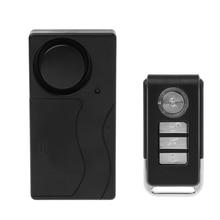 Wireless Remote Control Vibration Alarm Sensor For Car Windo