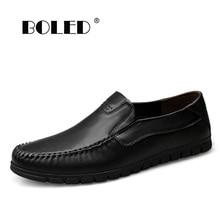 Breathable Cowhide Men Flats Shoes Full Leather Plus Size Fashion Shoes Men Loafers Moccasins Casual Men Shoes Zapatos Hombre plus size men flats shoes mesh breathable men shoes high quality men loafers moccasin fashion driving shoes zapatos hombre