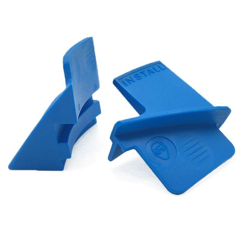 Пластиковый ребристый автомобильный ремень для удаления, 2 шт., растягивающийся вспомогательный ремень для удаления, набор инструментов дл...
