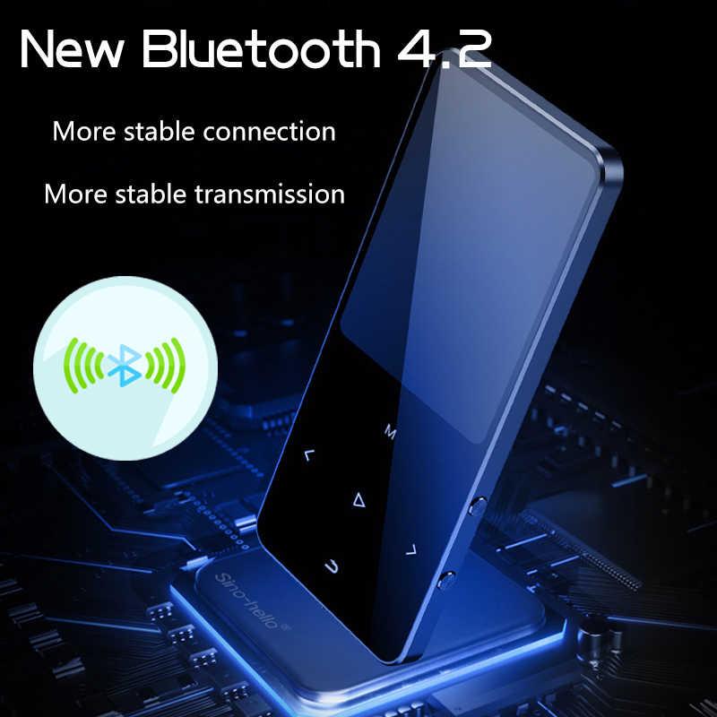 Btsmone新バージョンbluetooth MP3 音楽プレーヤー拡声器と内蔵 16 ギガバイトhifiポータブルウォークマンとラジオ/fm/記録
