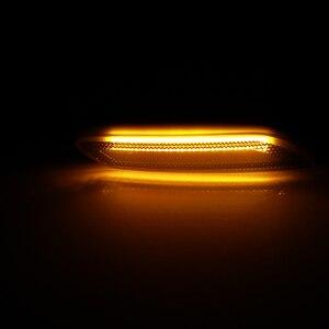 Image 5 - 2 stück Led Dynamische Seite Marker Blinker Licht Sequentielle Blinker Licht Für BMW Für Mini Cooper R60 COUNTRYMAN R61 PACEMAN