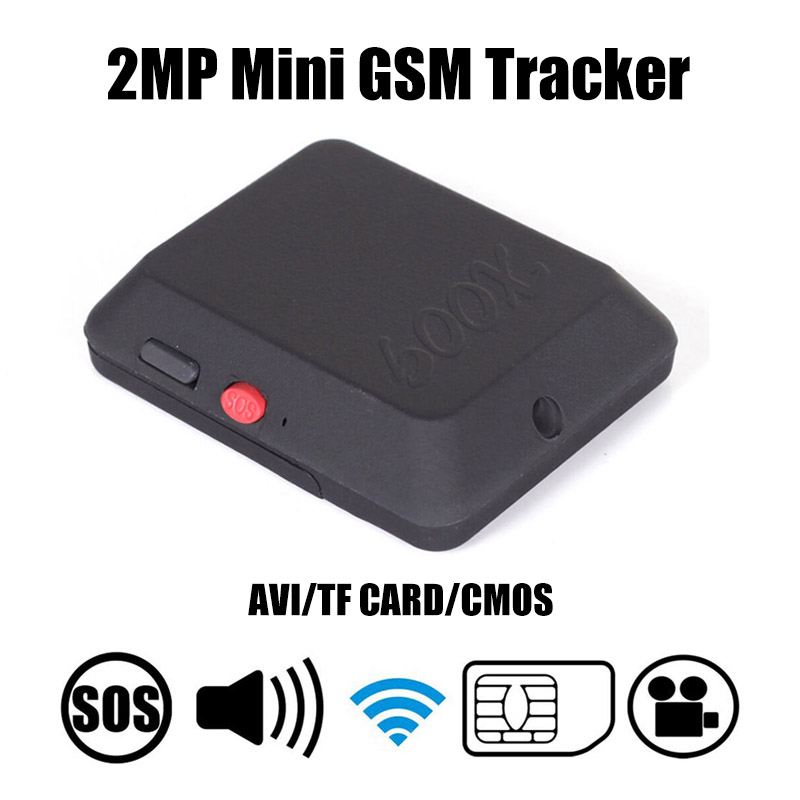 Mini GSM Tracker X009 With Camera Monitor Audio Video Record Real Time Tracking And Listening LBS Locator X009 With SOS Button