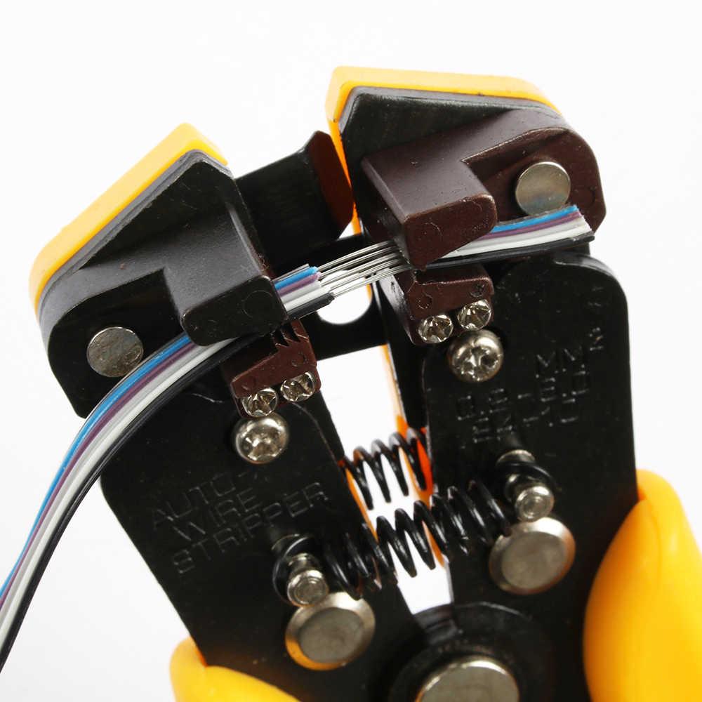 ЛЮБАНЬ HS-D1 AWG24-10 (0.2-6.0mm2) дизайн Многофункциональные автоматические плоскогубцы для зачистки Кабеля Для Зачистки проводов Обжимной инструмент Для Резки