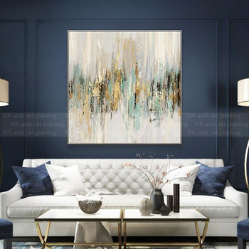 Abstract canvas painting wall art pictures for living room home art wall decor original acrylic texture quadro decoration
