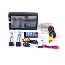 7080B Автомобильный видео плеер 7 дюймов с HD сенсорным экраном стерео радио автомобиля MP3 MP4 MP5 Аудио USB Авто электроника