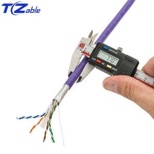 Image 3 - Netwerk Kabel Cat6 Zuiver Koper Afgeschermde Twisted Pair Ethernet Kabel Voor Internet Kabel RJ45 Netwerk Kabel Ftp Computer Cord