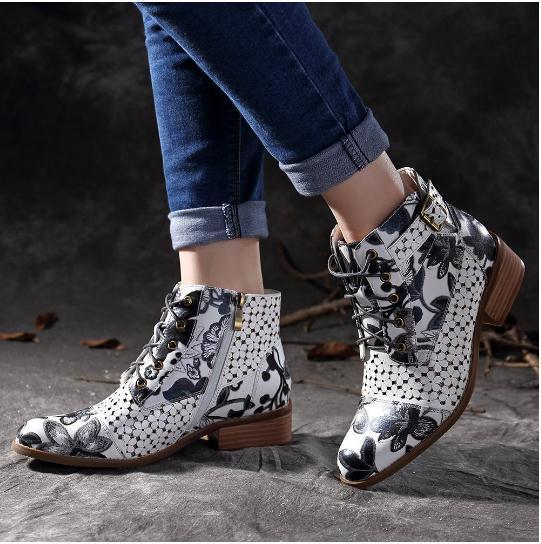 Фото женские ботинки mudibear осенне зимние короткие сапоги в западном цена