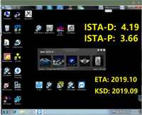2019,09 ISTA/D 4,19 ISTA/P 3,66 para BMW ICOM Software HDD/SSD Multi-idioma con los ingenieros de Programación windows 7 envío gratis