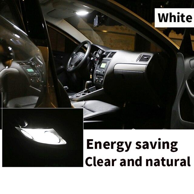 14 Bulbs White LED Car Light Interior Kit Fit For Chevrolet Tahoe 2007-2010 2011 2013 2014 Map Dome Trunk Cargo License Lamp 4