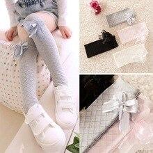 Cute Children Girls Knee High Socks for Toddlers Kids Baby G