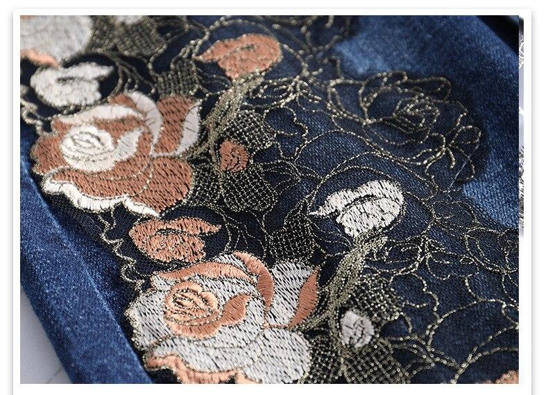 KSTUN Women Skirt Summer Fashion High Waist Step Skirt Embroidered Elastic Waist Denim Skirts Woman Single Button Push Up Jeans Skirt 21