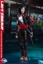 Soosootoys SST 006 bayan Samurai Katana koleksiyonu Action Figure hayranları için tatil hediye