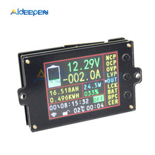80V 500A Colorful LCD Display Battery Coulomb Counter DC Voltmeter Ammeter Wattmeter Capacity Detector DC Energy Power Meter 80v 350a tk15 precision battery tester for lifepo coulomb counter lcd coulometer aug 26