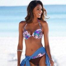 Sexy Bikini Push Up Swimwear Women Swimsuit Bikini Set High Waist Bathing Suit Two Piece Biquini 2020 Brazilian Lace Up Bodysuit 2017 sexy women s lady two piece sexy bikini brazilian swimwear swimsuit bra briefs set bathing suits biquini