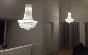 Image 4 - Phube Lighting French Empire Gold Crystal Chandelier Chrome Chandeliers Lighting Modern Chandeliers Light+Free Shipping!