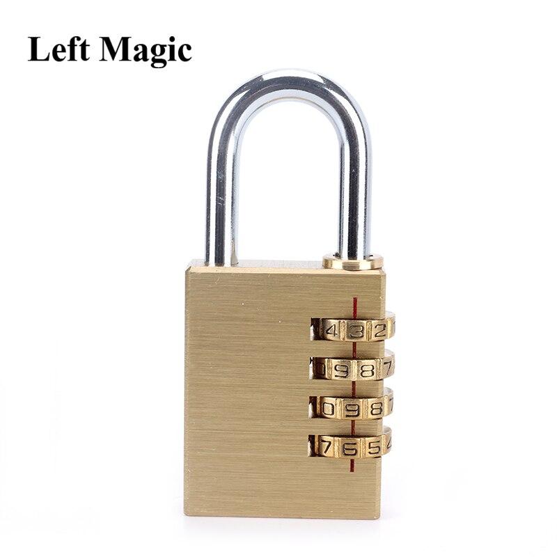 Indução codificado bloqueio de sonho (grande/pequeno, latão) mentalismo truques de magia mágico perto ilusão gimmick estágio magia brinquedos piada|Truques de mágica|   -