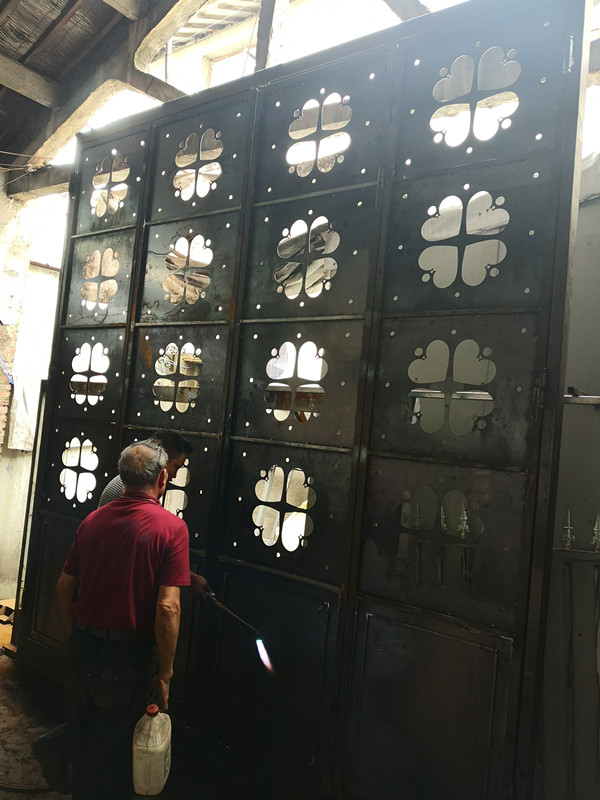 Hench 100% Steel Iron Doors  Model Hc-id36