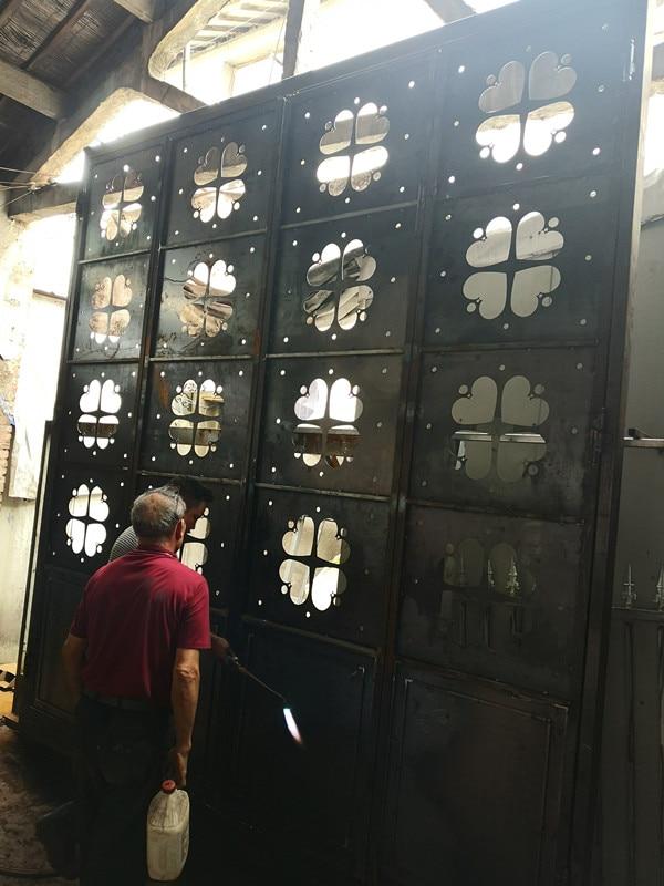 Hench 100% Steel Iron Doors  Model Hc-id36