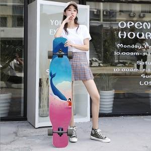 Image 3 - Ardea Trưởng Thành Dài Board Bốn Bánh Longboard Con Nhện Xe Tải Nhảy Múa Childern Ván Trượt Tùy Chỉnh