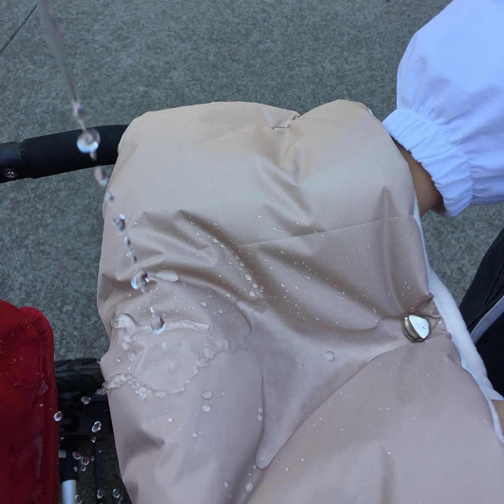 Зимние варежки на коляску, теплые перчатки для коляски, рукавицы для рук, детские коляски, детские коляски, муфта для рук, перчатки, водонепроницаемые аксессуары для коляски