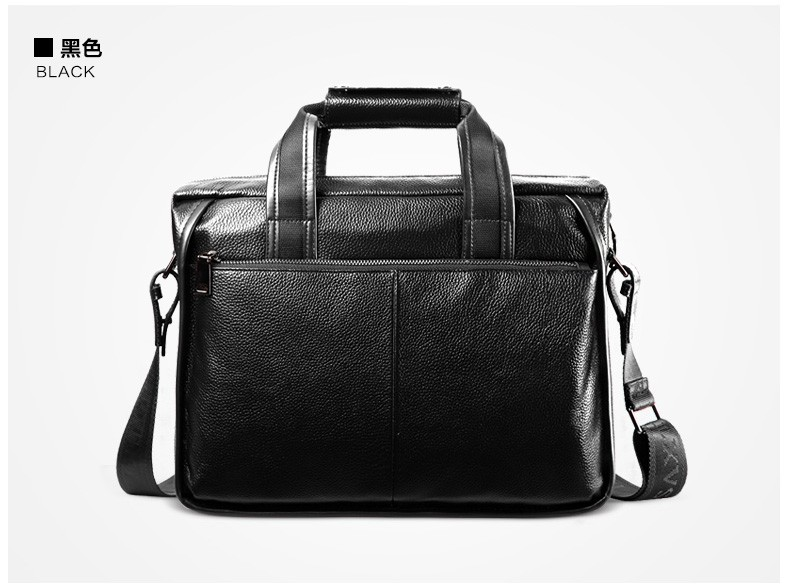 H571f1ab87e4b4a10a58771f5373e77401 2019 New Fashion cowhide male commercial briefcase /Real Leather vintage men's messenger bag/casual Natural Cowskin Business bag