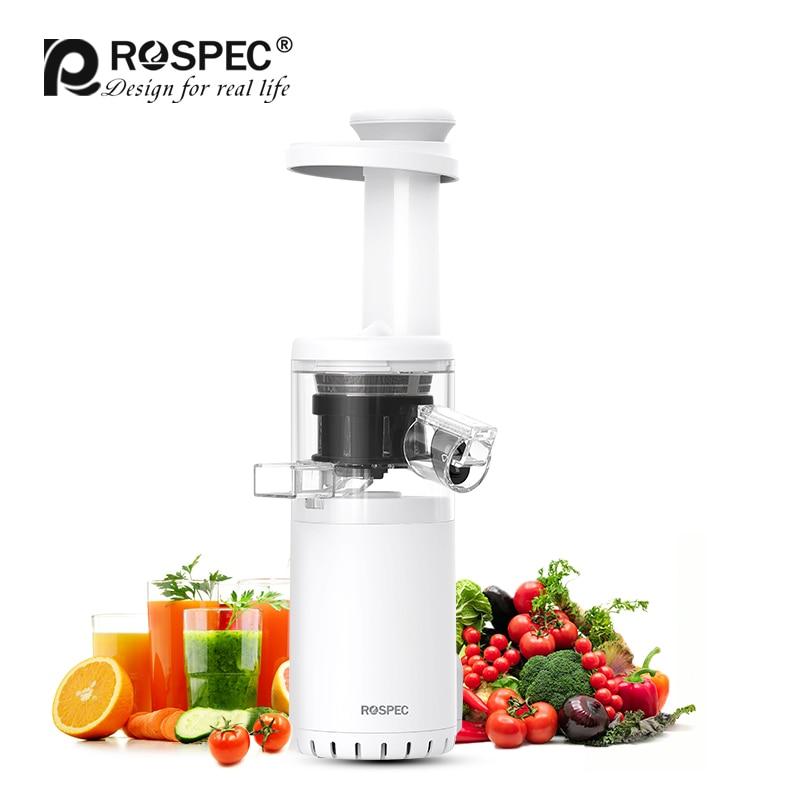 ROSPEC sans BPA masticant la tarière lente presse-agrumes sans fil Mini presse-agrumes lente fruits et légumes presse froide extracteur de jus Potable