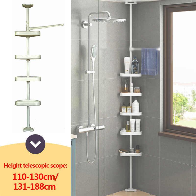 1 Pcs Stainless Steel 4 Tier Telescopic Bathroom Corner Shelf Rack Shower Caddy Storage Bathroom Shelves Bath Accessory Bathroom Shelves Aliexpress