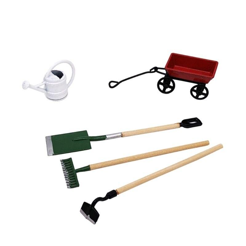 1//12 Dollhouse Horticulture Box Farming Tools Model Garden Tools DIY Parts