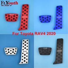 Pedal-Cover TRO RAV4 Toyota Aluminum-Alloy for Non-Slip Auto No-Drilling