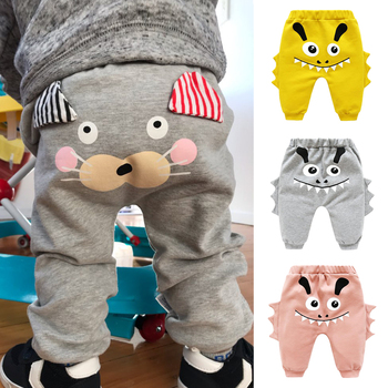 Baby Cartoon Animal Printed Pants 1