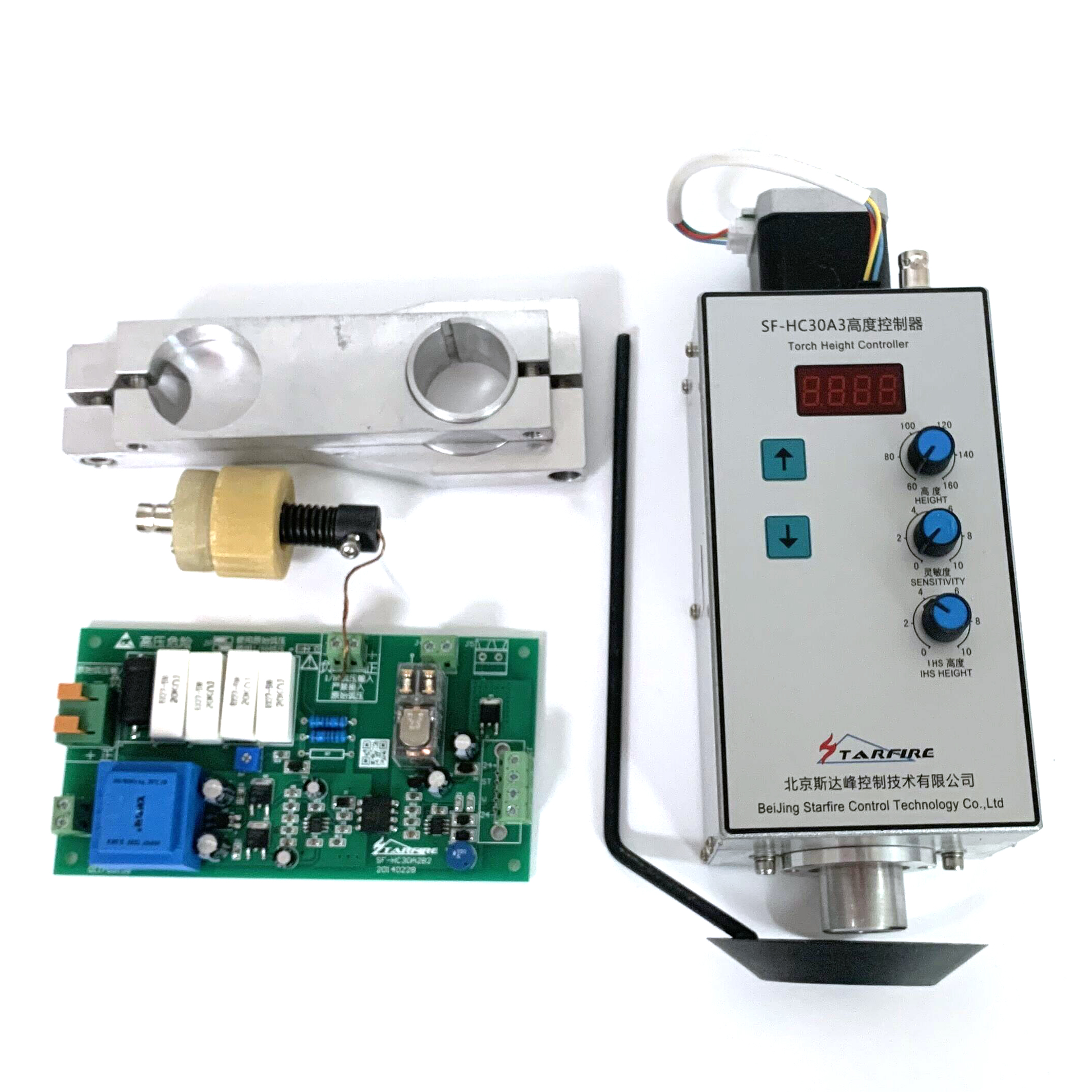 Automatic arc and cap torch height controller SF-HC30A  for plasma cutter machines and flame cutters THC