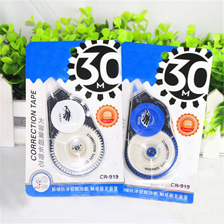 30M Extra Long Pocket Mini Children Correction Tape, Simple Office Supplies Students Write Corrector Stationery