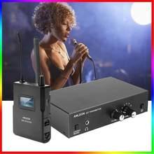 Original para o sistema estereofônico sem fio 670-680mhz do monitor da in-orelha da frequência ultraelevada de anleon s2 monitoração da orelha estágio de som digital profissional