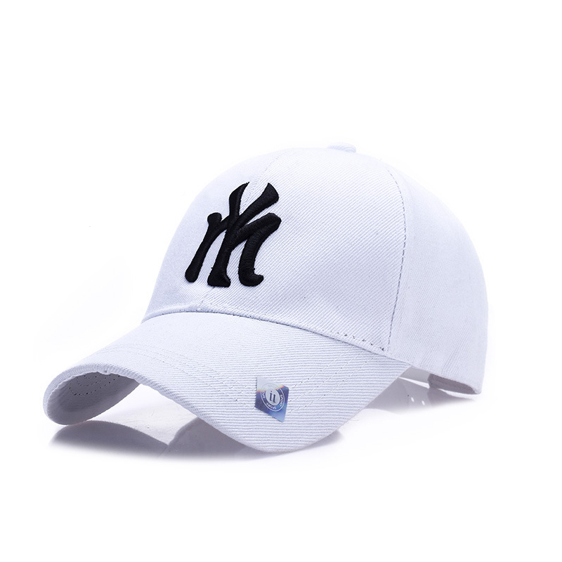 New York Dad Cap 100% Cotton Letter Embroidery Baseball Cap Snapback Summer Sun Protection Sun Hat Fashion Hip Hop Outdoor Caps